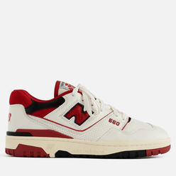 Кроссовки New Balance x Aime Leon Dore P550 Basketball Oxfords White/Red