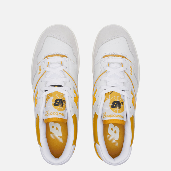 Мужские кроссовки New Balance BB550LA1 Sea Salt/Varsity Gold