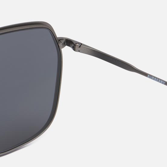 Солнцезащитные очки Burberry Adam Ruthenium/Grey