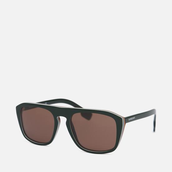 Солнцезащитные очки Burberry BE4286 Green/Dark Brown