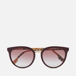 Солнцезащитные очки Burberry BE4316 Bordeaux/Clear Gradient Pink