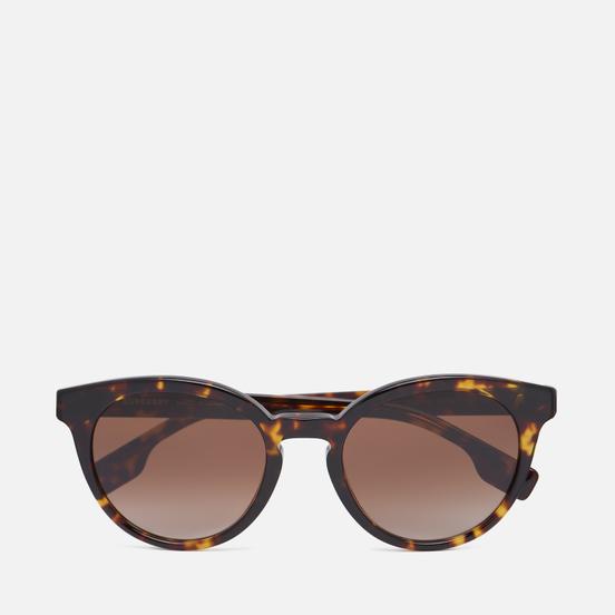 Солнцезащитные очки Burberry Amelia Dark Havana/Brown Gradient