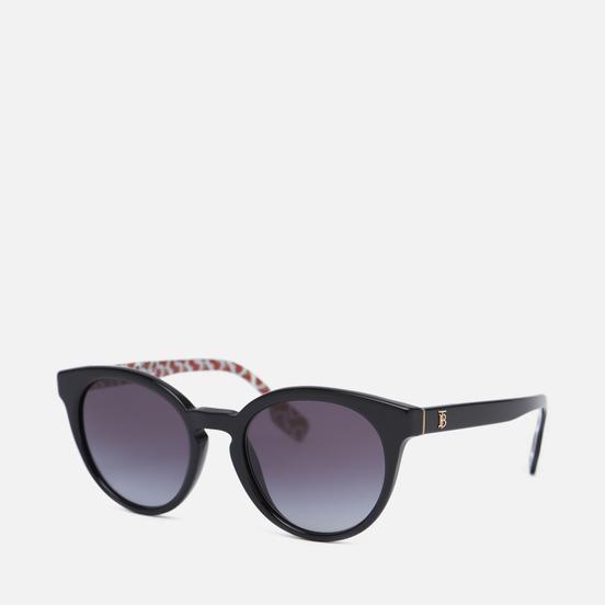 Солнцезащитные очки Burberry Amelia Black/Grey Gradient