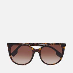 Солнцезащитные очки Burberry Alice Dark Havana/Brown Gradient