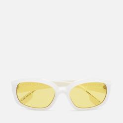 Солнцезащитные очки Burberry Milton White/Yellow