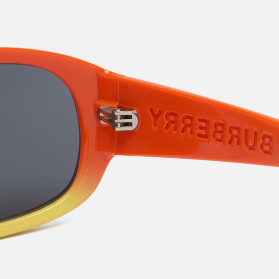 Солнцезащитные очки Burberry Milton Orange Yellow/Grey