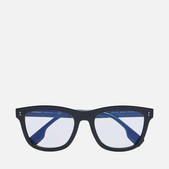 Солнцезащитные очки Burberry Miller Black/Clear Blue Light Filter