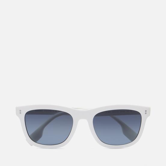 Солнцезащитные очки Burberry Miller Polarized White/Blue Gradient Black