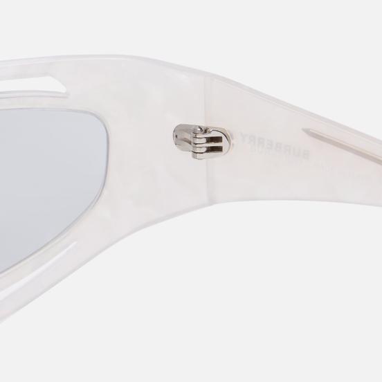 Солнцезащитные очки Burberry Eliot Ivory Madreperla/Light Grey