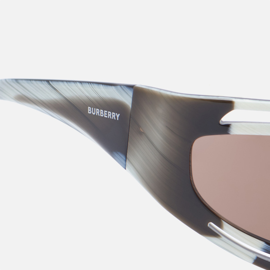 Солнцезащитные очки Burberry Eliot Brown/Beige Horn/Dark Brown