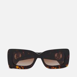 Солнцезащитные очки Burberry Astrid Dark Havana/Brown Gradient