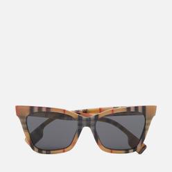 Солнцезащитные очки Burberry Elsa Vintage Check/Dark Grey