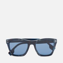 Солнцезащитные очки Burberry Cooper Navy Check/Dark Blue