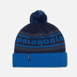 Шапка Patagonia Powder Town Park Stripe Blue фото- 0