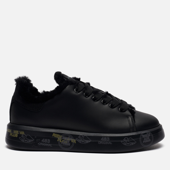 Женские кроссовки Premiata Belle 5074 Black