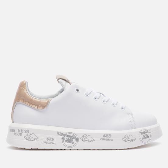 Женские кроссовки Premiata Belle 5380 White