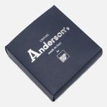 Ремень Anderson's Classic Woven Multicolor Silver/Cork фото- 3