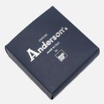 Anderson's Classic Woven Wool Men's Belt Grey photo- 3