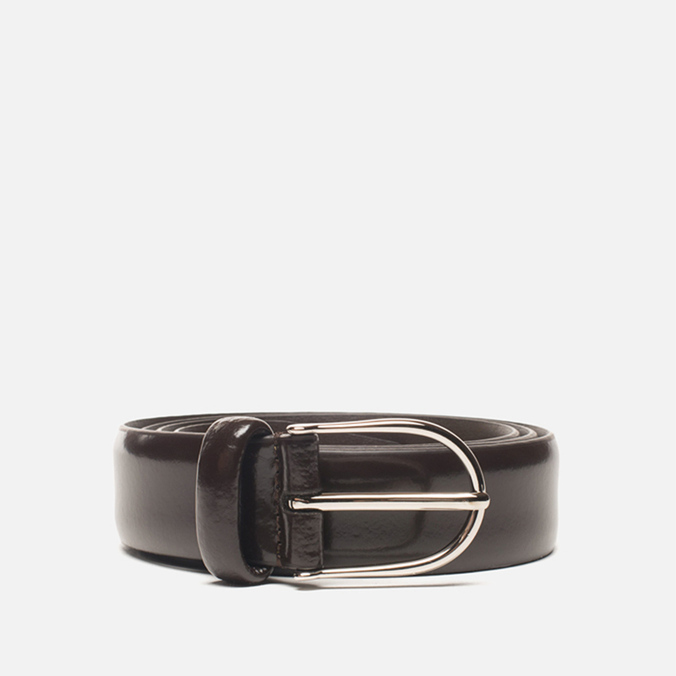 Anderson's Classic Thin Smooth Leather Men's Belt Brown