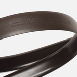 Anderson's Classic Thin Smooth Leather Men's Belt Brown photo- 2