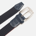 Anderson's Classic Tricolor Belt Navy/White/Red photo- 2