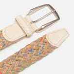 Anderson's Classic Woven Multicolor Men's Belt Silver/Cork photo- 1