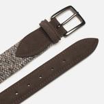 Anderson's Classic Woven Wool Men's Belt Grey photo- 1