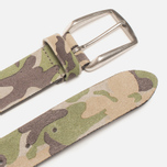 Anderson's Leather Camo Belt Green/Tan/Brown photo- 1
