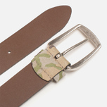 Anderson's Leather Camo Belt Green/Tan/Brown photo- 2