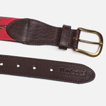 Ремень Barbour Coloured Leather Country Red/Duck фото- 1
