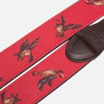 Barbour Coloured Leather Country Red/Duck photo- 2