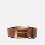 Barbour Coloured Leather Tan/Blue photo- 0