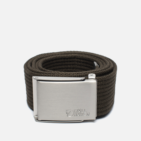 Fjallraven Canvas Belt Dark Olive