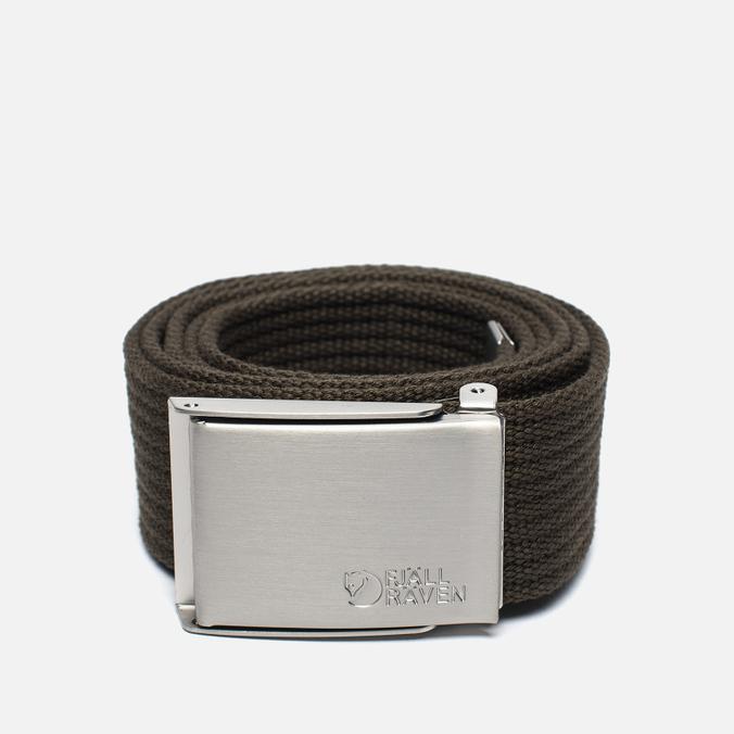 Fjallraven Canvas Belt Dark Olive
