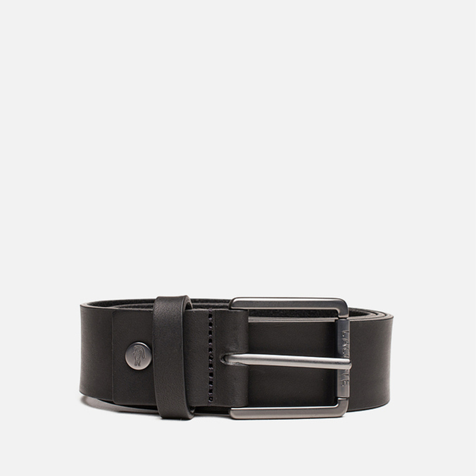 Ремень Lacoste Leather Black