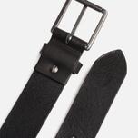 Ремень Lacoste Leather Black фото- 3