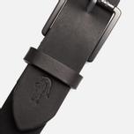 Ремень Lacoste Leather Black фото- 2