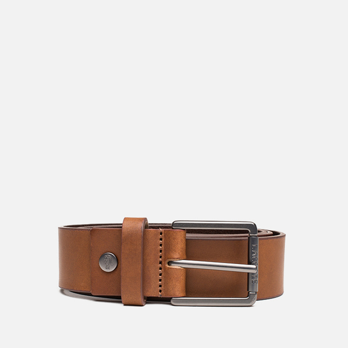 Ремень Lacoste Leather Brown