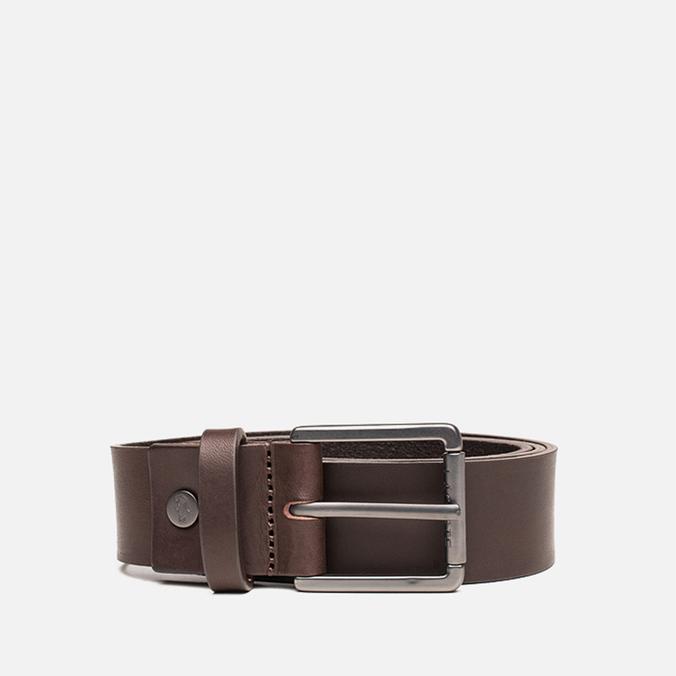 Ремень Lacoste Leather Dark Brown