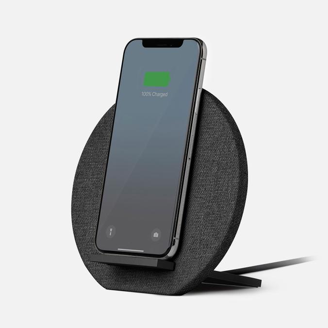 Беспроводное зарядное устройство Native Union Dock Wireless Charger Grey