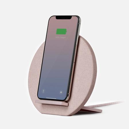 Беспроводное зарядное устройство Native Union Dock Wireless Charger Rose