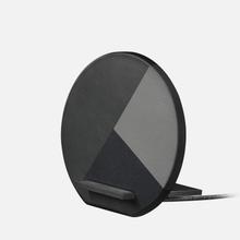 Беспроводное зарядное устройство Native Union Dock Wireless Marquetry Grey фото- 1