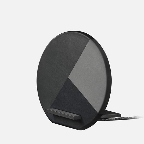 Беспроводное зарядное устройство Native Union Dock Wireless Marquetry Grey