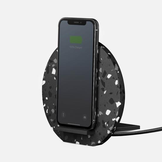 Беспроводное зарядное устройство Native Union Dock Wireless Terrazzo Grey