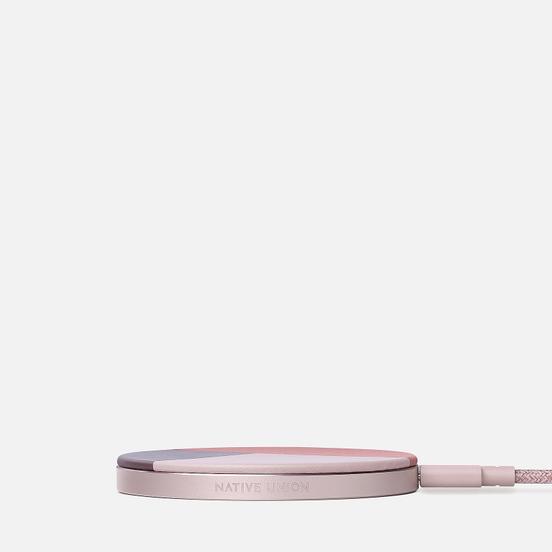 Беспроводное зарядное устройство Native Union Drop Wireless Charger Leather Rose
