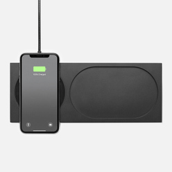 Беспроводное зарядное устройство Native Union x Tom Dixon Block Wireless Brushed Black