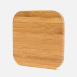 Rombica NEO Q5 Wireless Charger Light Wood photo- 1