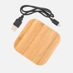 Rombica NEO Q5 Wireless Charger Light Wood photo- 3