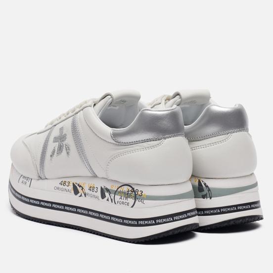 Женские кроссовки Premiata Beth 4840 White