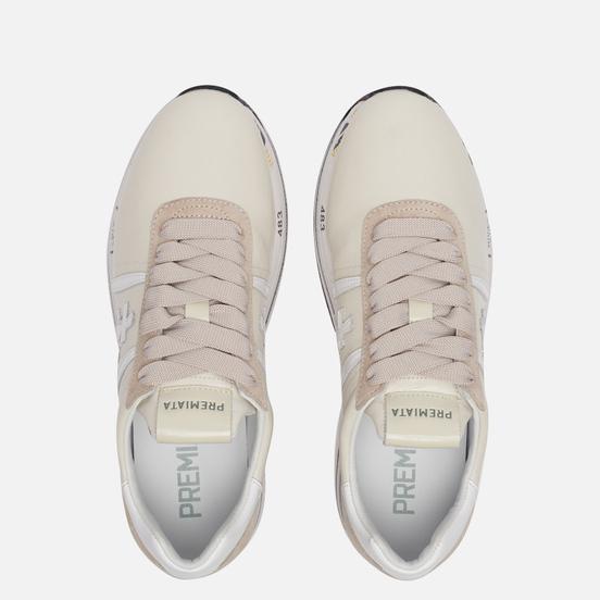 Женские кроссовки Premiata Beth 4841 Cream White